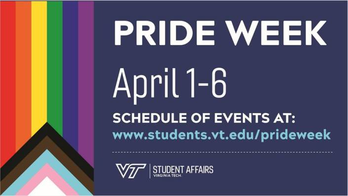 pride week flyer